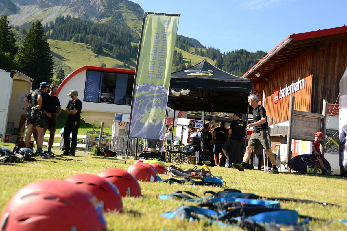 Base Camp Salewa Klettersteigtage Oberjoch