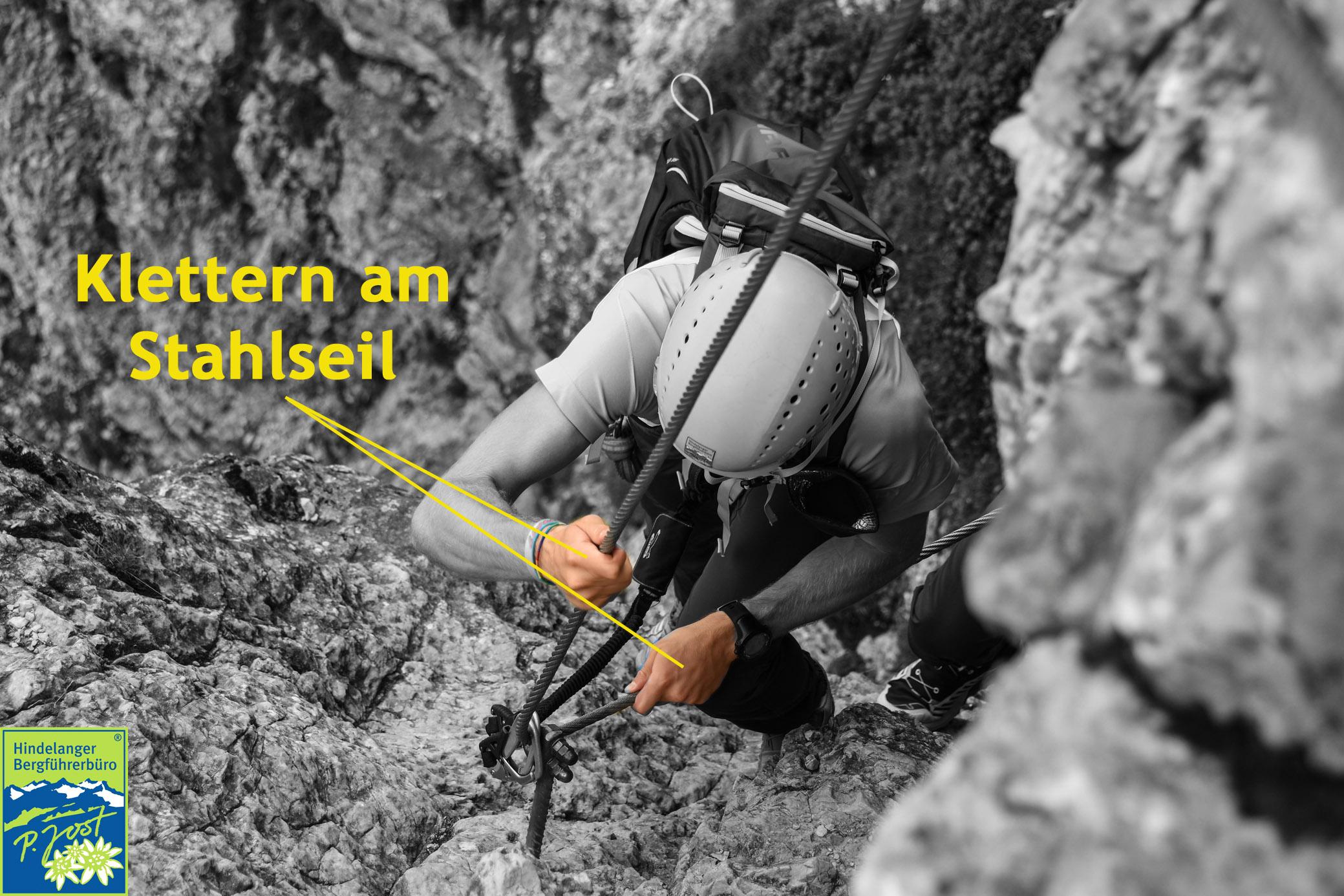 Klettersteig Rucksack : Sicherheit am klettersteig