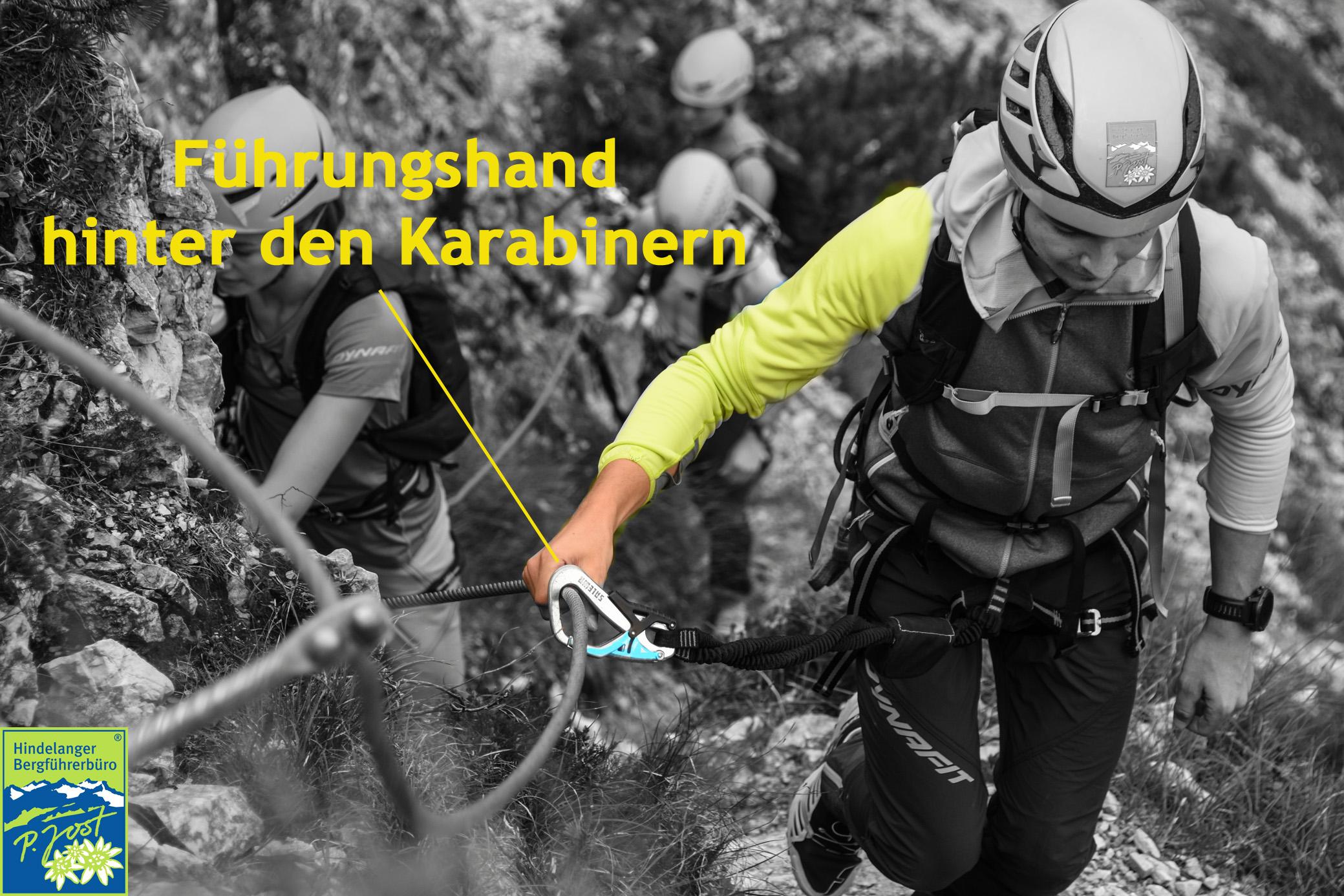 Klettersteigset Dämpfer : Sicherheit am klettersteig